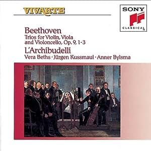 Trios for Violin, Viola & , Violoncello