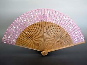 京扇子 女性用 「すずらん」 日本製