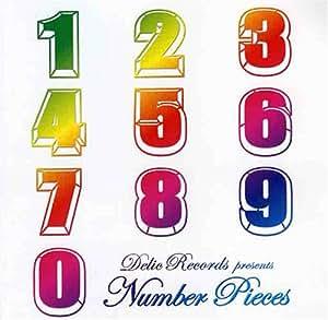 DELIC RECORDS PRESENTS NUMBER PIECES