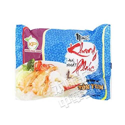 お湯を注いで3分待つだけ! KHANG PHUC FOODタイトムヤムクン即席春雨50g/1pc 単品 ベトナム タイ 大人気インストール麺 輸入食品 便利