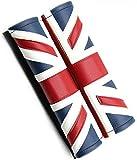 【Micopuella】 汎用 ユニオンジャック チェッカー 柄 シートベルト パッド カバー 2個 セット イギリス 国旗 車内 インテリア グッズ ( ユニオンジャック )