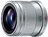 パナソニック 単焦点 中望遠レンズ マイクロフォーサーズ用 ルミックス G 42.5mm/ F1.7 ASPH. / POWER O.I.S. シルバー H-HS043-S