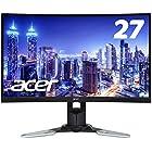 Acer ゲーミングモニター XZ271Ubmijpphzx 27インチ/VA/非光沢/2560x1440/WQHD/250cd/1ms/144Hz/HDR