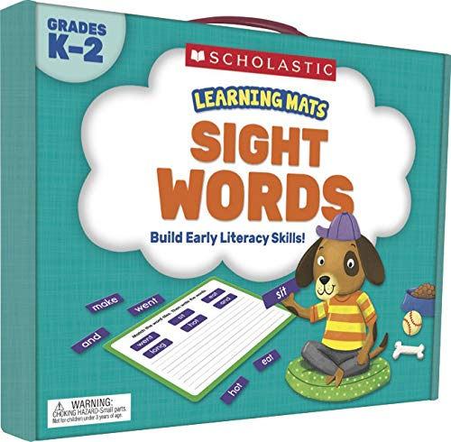 Download Sight Words, Grades K-2 (Learning Mats) 133823966X