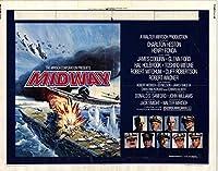 Midwayポスター映画( 22x 28インチ–56cm x 72cm ( 1976年) (半分シートスタイルA )