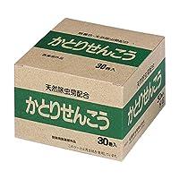 無添加・キントビ天然蚊とり線香 ピレスラムA・30巻入