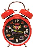 ジャグラー サウンド目覚し時計 レッド