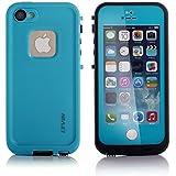 LEVIN [iPhone SE, iPhone 5s,iPhone 5対応] iPhone se ケース iPhone5s ケース 防水 防じん 防雪 衝撃吸収 ブルー