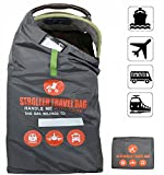 ベビーカーカバー 汚れ防止 トラベルカバー 旅行や収納に (バギー用) 飛行機 バス 電車の中でも便利 コンパクト袋付き