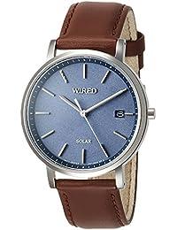 [ワイアード]WIRED 腕時計 WIRED 男女兼用ソーラー ジオメトリック柄ダイヤル AGAD091