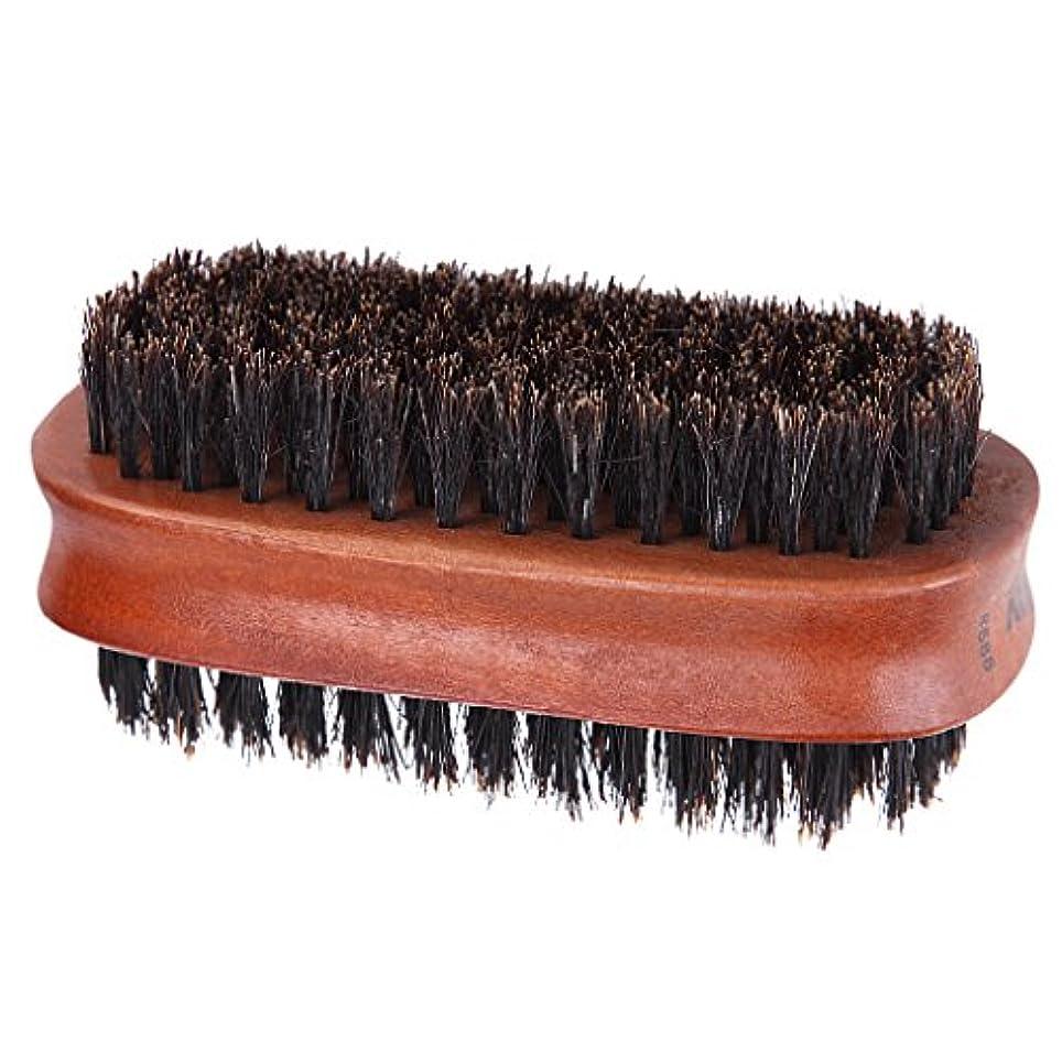 人類消防士自伝ヘアブラシ 両面ブラシ 理髪店 美容院 ソフトブラシ ヘアカッター ダスターブラシ
