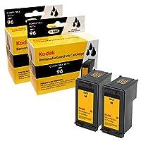 Kodak - 2-pack - High Yield - black - remanufactured - ink cartridge ( equivalent to: HP 96 ) - for HP Deskjet 69XX, Officejet 72XX, Photosmart 25XX, 26XX, 27XX, 81XX, 84XX, 87XX, Pro B8330