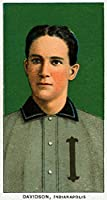 インディアナポリスMinor League–ポール・ハーレーダビッドソン–野球カード 16 x 24 Giclee Print LANT-23362-16x24