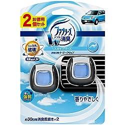 ファブリーズ 芳香剤 車用 イージークリップ スカイブリーズ 2mLx2