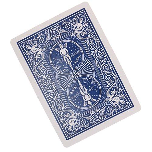 【ノーブランド品】プッシュ タバコ カード通して トランプ カード マジック 手品 -