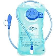 Hydration Bladder Water Reservoir 1.5L, Water Storage Bladder Bag Leak Proof BPA Free FDA Hydration Pack Replacement for Hiking Biking Climbing Cycling Running