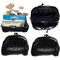 革製小銭入れ4点セット、女性用ミニポケット小銭入れ。