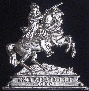 オレンジLodge King William III 1690?( King Billy )ジュエルバッジ