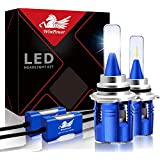 WinPower 9005 HB3 LED Headlight Conversion Kit 10400lm 6000K White CSP Chips Car LED Bulbs, 2 Yr Warranty