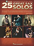 25 Great Sax Solos Bk Transcriptions Lessons Bios Photos Audio Online by Eric J. Morones(2008-04-01)