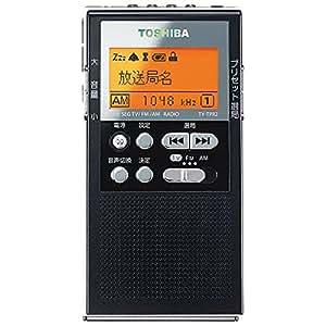 東芝 ワンセグTV(音声)/AM/ワイドFMラジオTOSHIBA TY-TPR2-K