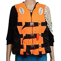 BAINASIQI スイミング ライフジャケット ベスト 呼び子付け 救命胴衣 強い浮力 釣り 漂流 大人用 男女兼用