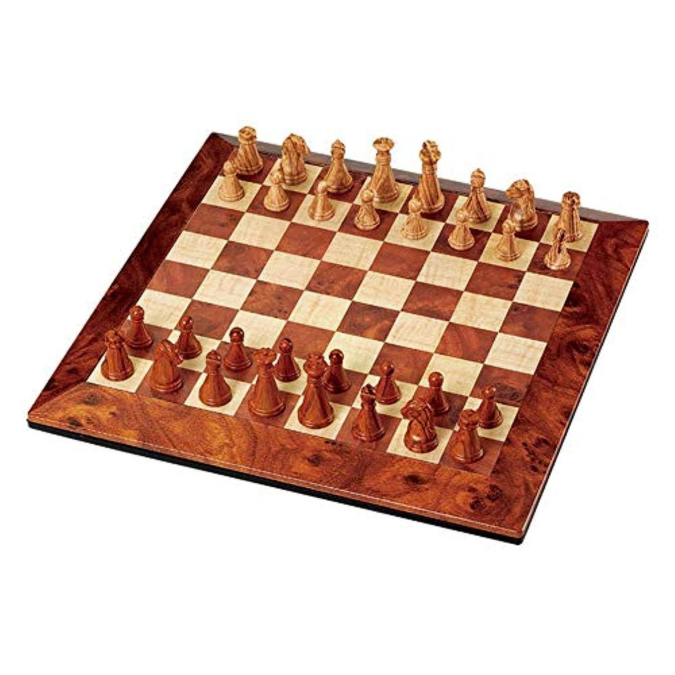 チェスセット セ 大人の子供のための磁気旅行チェスセットの携帯用従来のチェスのゲーム マスターチェス (色 : As picture, サイズ : 200x200x20MM)