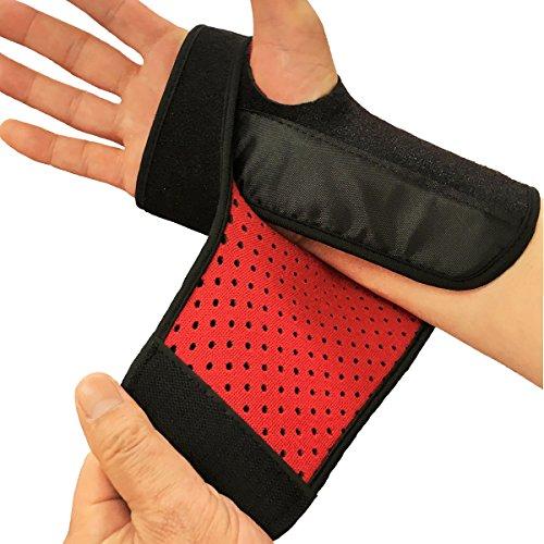 手首サポーター 手関節 スチール副子 固定 手首の痛み 捻挫 腱鞘炎 手根管症候群 キーンベック (左手用)