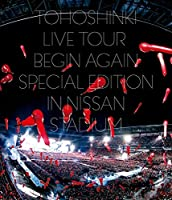 東方神起 LIVE TOUR ~Begin Again~ Special Edition in NISSAN STADIUM(Blu-ray Disc2枚組)