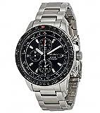 Seiko(セイコー) Prospex Solar Black Dial Alarm Chronograph Men's Watch SSC009 プロスペックス ソーラー ブラック ダイヤル アラーム クロノグラフ メンズ腕時計 SSC009 [並行輸入品]