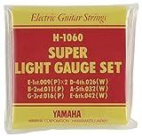 YAMAHA スーパーライトゲージ エレキギター用セット弦 H1060