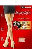 スリムウォーク (SLIM WALK) シェイプアンドキープ(Shape&Keep) パンティストッキング ヌーディベージュ M~Lサイズ(Panty stocking, Nudie Beige,ML) 着圧 ストッキング