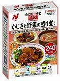 Nichirei Foodsその他 カロリーナビ かじきと野菜の照り煮セット 240kcalの画像
