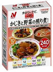 ニチレイ カロリーナビ240 かじきと野菜の照り煮セット