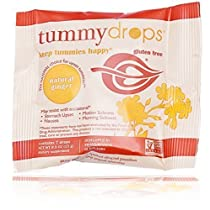 tummy drops-Ginger(タミードロップスー自然の生姜キャンディー)| つわりによる吐き気や胃のムカつきのための、プレミアム生姜キャンディー