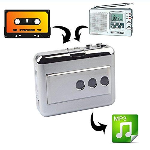 [해외]LeaningTeach 카세트 테이프 mp3 변환 플레이어 변환기 디지털화 이어폰이 휴대용 휴대에 편리/LeaningTeach cassette tape mp3 conversion player converter Convenient for portable portable phone with digitalization earphone