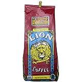 Lion Cofe Hawaii ライオン カフェ ハワイ ミディアム ダーク ロースト コーヒー (粉) 793g×2パック