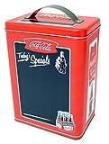 Coca-Cola(コカ・コーラ) ハンドル付ブリキ缶 表面黒板加工