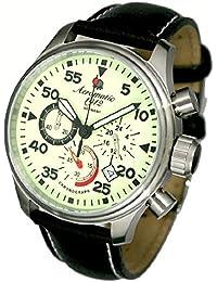 エアロマチック1912 腕時計 二戦 ドイツ 陸軍用 モデル 復刻 クロノグラフ A1342[並行輸入品]