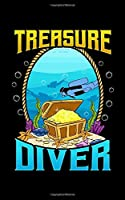 """Treasure Diver: Awesome Scuba Diving Treasure Diver 2020 Pocket Sized Weekly Planner & Gratitude Journal (53 Pages, 5"""" x 8"""") - Blank Sections For Notes & To Do Lists - Small Fit For Purses, Backpacks & Pockets"""