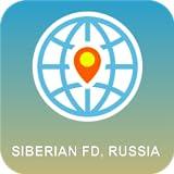 シベリアFD、ロシア 地図オフライン