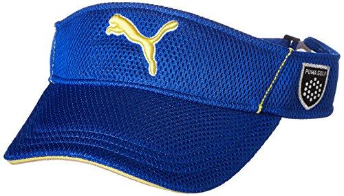 (プーマゴルフ)PUMA GOLF ゴルフウェア ゴルフ メッシュ バイザー 866426 [メンズ] 866426 03 ブルー ダニューブ フリーサイズ