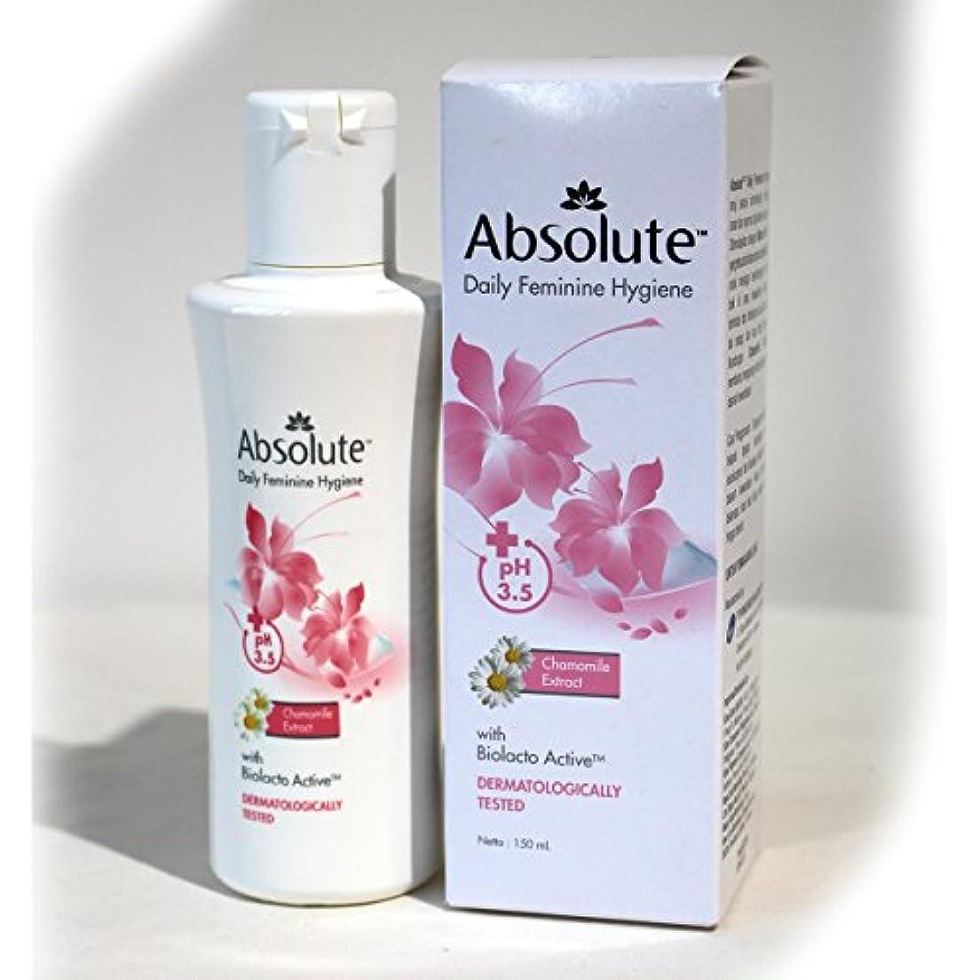 不承認突然の感染するAbsolute(アブソリュート)女性用液体ソープ 150ml [並行輸入品][海外直送品]