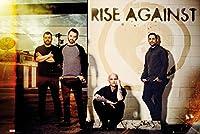 "Rise Against–音楽ポスター/印刷( The Guys–Line up ) (サイズ: 36"" x 24"" )"