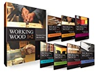 (Book + 7-DVD Set) Working Wood 1 & 2: The Artisan Course with Paul Sellers.