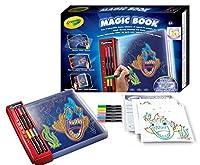 Crayolaマジックブックブック - キッズグローブック(本、少年/少女、赤、ボックス)