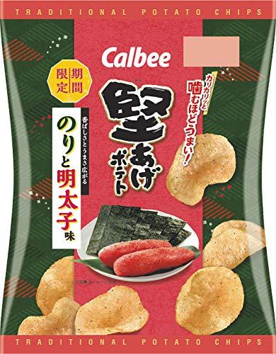 カルビー 堅あげポテト のりと明太子味 60g ×12袋