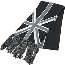 (エクサス)EXAS ユニオンジャックUK(イギリス国旗)柄マフラー ブラック