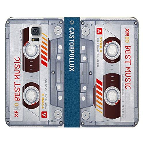 Galaxy S4 / ギャラクシー S4 (SC-04E) 対応 ケース Parody Book Flip Wallet パロディー ブック フリップ ウォーレット ケース スマホ カバー Tape / テープ
