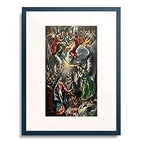 エル・グレコ El Greco 「受胎告知 Annunciation. 1590/1600.」 額装アート作品
